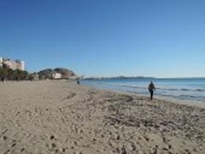 アリカンテの浜