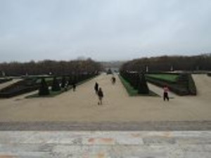 ヴェルサイユ宮殿の中庭